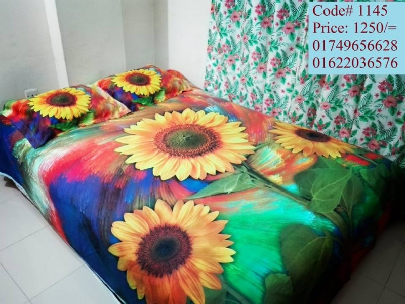 Three Piece Bed Sheet