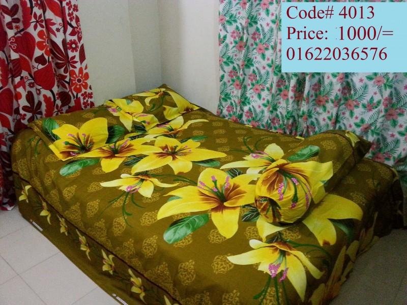 Four Piece Bed Sheet
