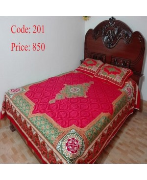 Panel Twill Bed Sheet